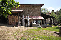 Italian Country House for sale in Piedmont Italy - Side view of the main property