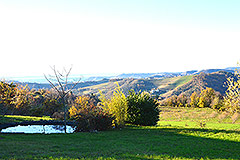 Italian holiday vacation apartment rental business for sale in Piedmont Italy - Views