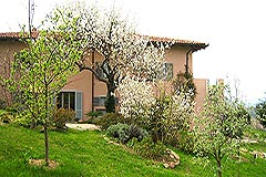 Italian holiday vacation apartment rental business for sale in Piedmont Italy - Side view