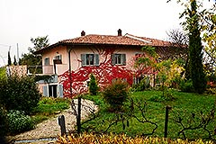 Italian holiday vacation apartment rental business for sale in Piedmont Italy - View of the property