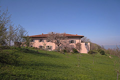 Italian holiday vacation apartment rental business for sale in Piedmont Italy - Agriturismo bed and breakfast business with four self-contained apartments and mountain views