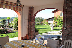 Restored Country homes for sale in Piemonte. - Terrace