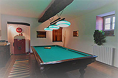 Due case di campagna in vendita in Piemonte - House 1 - Games room