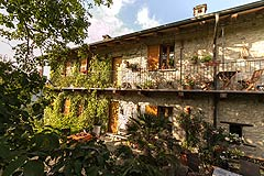 Holiday Rental Apartments business for sale in Piemonte Italy - Agriturismo business for sale in Piedmont. Includes four independent apartments and spacious owners family home.