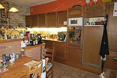 Holiday Rental Apartments business for sale in Piemonte Italy - Owner's kitchen