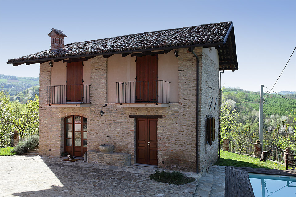 An Opportunity To Purchase Italian Farmhouse With Additional Property Generate Income