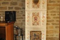 Renommiertes Landhaus zum Verkauf im Piemont Italien. - Unique style wood-burning stove built for the property