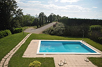 Luxury Property for sale in Piedmont Italy. - Swimming pool set with in the grouds