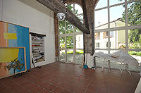 Bella cascina in vendita in Piemonte - The studio has a bright and spacious feel