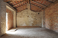 Country homes for sale in Piemonte Italy. - Hayloft area