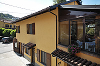 Italian Bed and Breakfast for sale, Alba, Piemonte Italy - Side view of the property