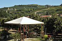 Holiday Rental - Restored Farmhouse 3km from Alba for self catering holidays - Vineyard views from Piccolo Rustico