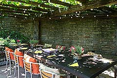 Luxury Property for sale in the Langhe Piemonte - Outside living area