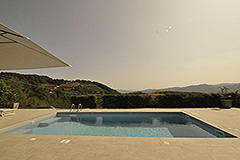 Luxury Country home for sale in Piemonte - Panoramic pool views