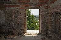 Italian Rustic House for sale in Piemonte - Vineyard views from the windows