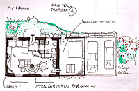 Italian Rustic House for sale in Piemonte - Architects idea - Ground floor