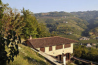 Two luxury restored stone houses for sale in the Piemonte wine region - View of the second property