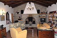Two luxury restored stone houses for sale in the Piemonte wine region - Living area second floor - House 2
