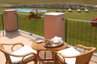 Hotel, Restaurant & Private Villa for sale in Piemonte Italy - Balcony area for guests