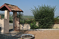 Vacation Rental in Piemonte Italy - Entrance to the Cascina