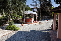 Vacation Rental in Piemonte Italy - Outside living area for guests