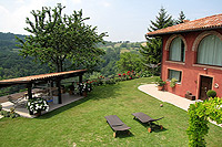 Luxury Country House for sale in Piemonte - Garden area
