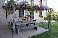 Luxury Country House for sale in Piemonte - Covered terrace area