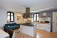 Luxury Country House for sale in Piemonte - High quailty fitted kitchen