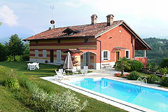 Luxury Country Home for sale in Piemonte. - Luxurious country home with Swimming pool, amazing mountain views and close to skiing