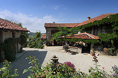 Country Estate for sale - PRICE REDUCTION - Charming Restored Langhe Stone properties in spectacular location with vineyard and mountain views.