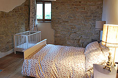 Langhe Stone House and Barn for sale in Piemonte - Bedroom