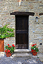 Langhe Stone House and Barn for sale in Piemonte - Front door
