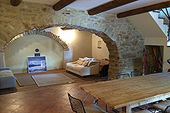 Restored Country Home for sale in Piemonte. - First floor living area