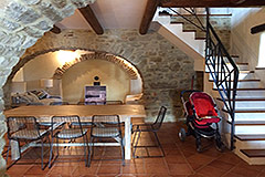 Restored Country Home for sale in Piemonte. - Ground floor features local stone and wooden beams
