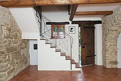 Restored Country Home for sale in Piemonte. - Entrance