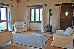 Restored Country Home for sale in Piemonte. - First floor- Master bedroom