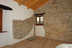 Restored Country Home for sale in Piemonte. - First floor- Bedroom