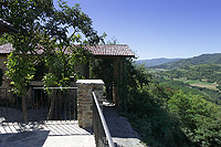 Restored Country Home for sale in Piemonte. - Panoramic views from the property