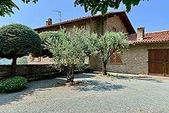 Rustico in vendita in Piemonte - Back view