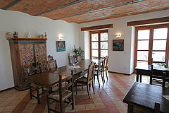Country estate for sale in Piemonte Italy. - Living Area