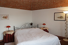 Country estate for sale in Piemonte Italy. - Bedroom