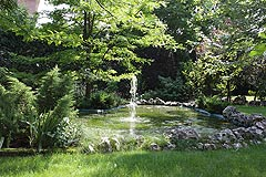 Luxury Italian Villa - Pond with water feature