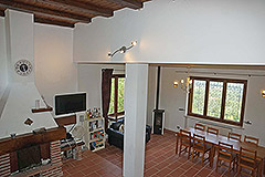 Country House for sale in the Langhe region (Piemonte) - Living area