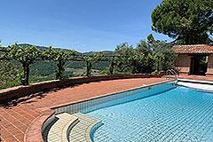 Immobili lusso in vendita Piemonte - Views from pool