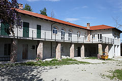 Country House in the Langhe - Courtyard area