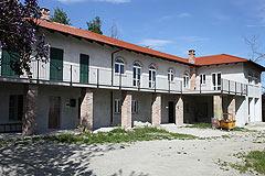 Bauernhaus zu verkaufen in Piemont - Courtyard area