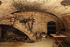 Restored Italian farmhouse - Wine cantina