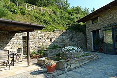 Country House in Piemonte, less then an hour from the coast. - Outside living area
