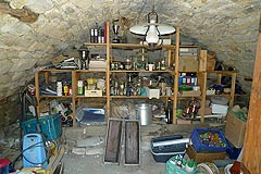 Country House in Piemonte, less then an hour from the coast. - Storage area