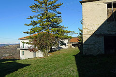 Group of Langhe Stone houses for sale in Piemonte. - View of the main property
